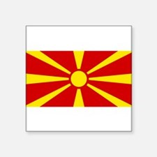 "Macedonia.jpg Square Sticker 3"" x 3"""