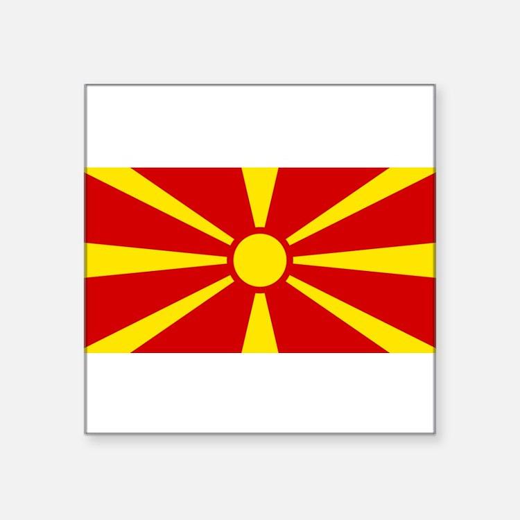 """Macedonia.jpg Square Sticker 3"""" x 3"""""""