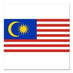 Malaysia.jpg Square Car Magnet 3