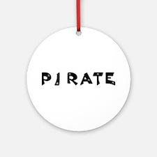 PIRATE Ornament (Round)