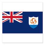 Anguilla.jpg Square Car Magnet 3