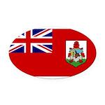 Bermuda.jpg Oval Car Magnet