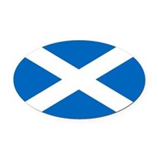Scotland.jpg Oval Car Magnet