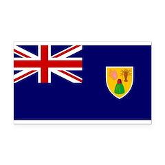 Turks and Caicos Islands.jpg Rectangle Car Magnet