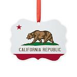 California.jpg Picture Ornament