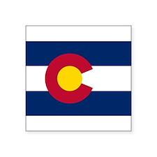 "Colorado.jpg Square Sticker 3"" x 3"""