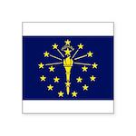 Indiana.jpg Square Sticker 3