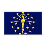 Indiana.jpg Rectangle Car Magnet