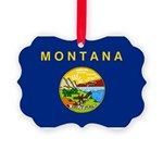 Montana.jpg Picture Ornament