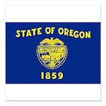 Oregon.jpg Square Car Magnet 3