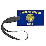 Oregon.jpg Large Luggage Tag
