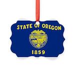 Oregon.jpg Picture Ornament