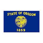 Oregon.jpg Rectangle Car Magnet