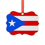 Puerto Rico.jpg Picture Ornament