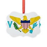 U.S. Virgin Islands.jpg Picture Ornament