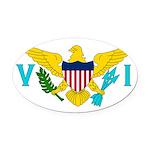 U.S. Virgin Islands.jpg Oval Car Magnet
