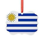Uruguay.jpg Picture Ornament