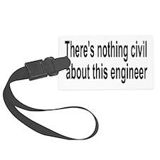 Civil Engineer Luggage Tag