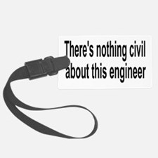 Civil Engineer Luggage Tag