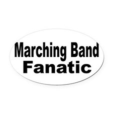 Band Fanatic Oval Car Magnet
