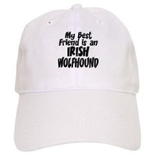 Irish Wolfhound FRIEND Baseball Cap