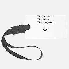 mythman.jpg Luggage Tag
