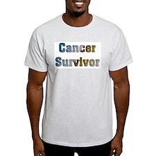 Cancer Survivor Ash Grey T-Shirt