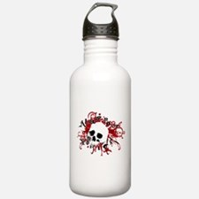 Cute Pirate humor Water Bottle