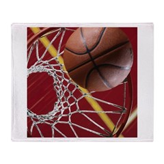Basketball Throw Blanket