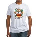O'Hare Coat of Arms, Family C Fitted T-Shirt