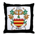 O'Hare Coat of Arms, Family C Throw Pillow