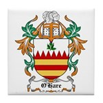 O'Hare Coat of Arms, Family C Tile Coaster
