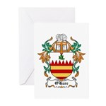O'Hare Coat of Arms, Family C Greeting Cards (Pack