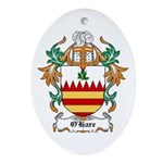 O'Hare Coat of Arms, Family C Oval Ornament