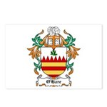 O'Hare Coat of Arms, Family C Postcards (Package o