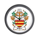 O'Hare Coat of Arms, Family C Wall Clock