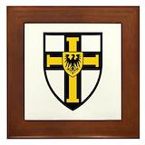 Crusaders cross Framed Tiles