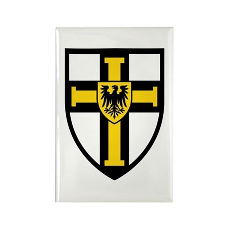 Crusaders Cross - ST-10 Rectangle Magnet