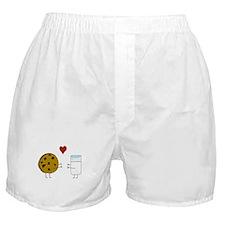 Cookie Loves Milk Boxer Shorts