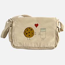 Cookie Loves Milk Messenger Bag