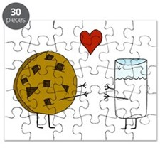 Cookie Loves Milk Puzzle