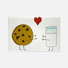 Cookie Loves Milk Rectangle Magnet (100 pack)
