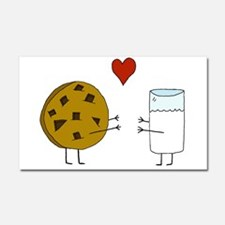 Cookie Loves Milk Car Magnet 20 x 12
