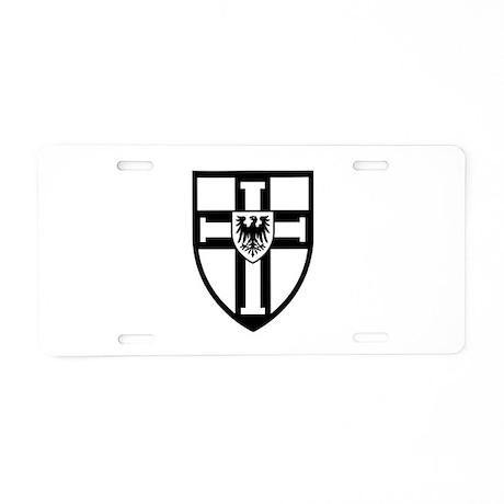 Crusaders Cross - ST 10 (2) Aluminum License Plate