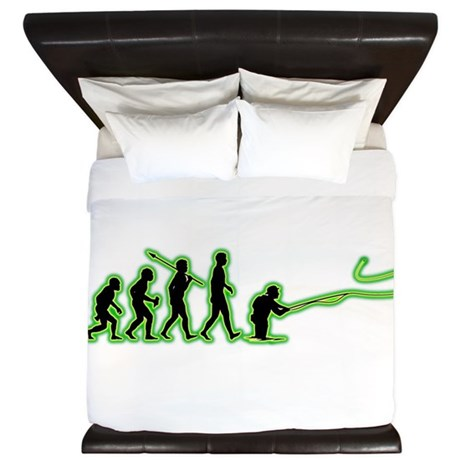 Fly Fishing King Duvet