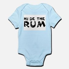 HIDE THE RUM Infant Creeper