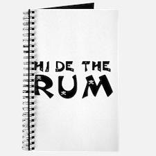 HIDE THE RUM Journal