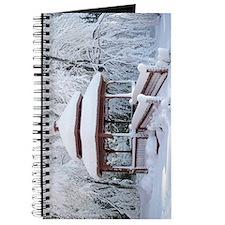 Gazebo surround by snow 9 Journal