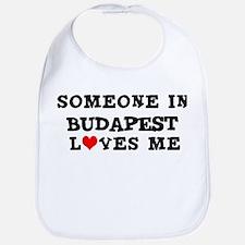 Someone in Budapest Bib