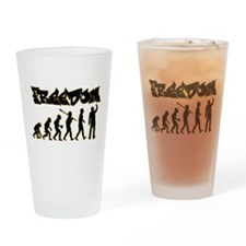 Graffiti Drinking Glass